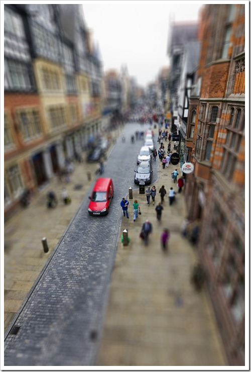 Home town tilt shift